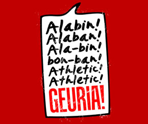 Alabín, Alabán. Athletic GEURIA!